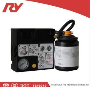 Buy cheap High Pressure Car Tire Inflator 12V 450ml Glue High Accurate Digital Pressure from wholesalers