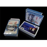 China Customized Paper Poker Playing Cards Linen Embossing with Printing Game Design on sale