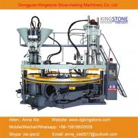 Quality Kingstone Machinery PVC Shoes Upper/Straps Injection Moulding Machine for sale