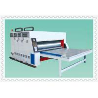semiautowater ink automatic paperfeeder printing slotting die cutting machine