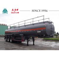 Wholesale 3 Axles 30000 Liters Fuel Tanker Trailer High Tensile Q345B Steel Material from china suppliers