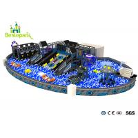 Wholesale Anti - static Large Indoor Playground , Million Ball Pool Baby Soft Play Equipment from china suppliers