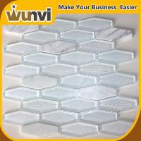Quality Fashion Transparent Stone And Glass Mosaic Tile Mixes with Home for sale
