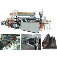Wholesale Solid Wall Water Gas Plastic Pipe Making Machine Extrusion Line , FCC from china suppliers