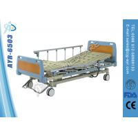 Wholesale Professional Luxury Triple Full Electric Medical Hospital Beds For Home Use ISO / FDA / CE from china suppliers