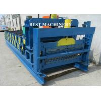 Wholesale Roof Tile Roll Forming Machine Double Deck Various Profile Corrugated and Glazed from china suppliers