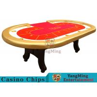 Wholesale High Elasticity Sponge Foreskin h Feet Texas Holdem Poker Table 2600*1400*800mm from china suppliers