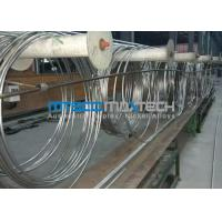 Wholesale TP304 9.53 x 0.71 x 172000 mm Coiled Stainless Tubing Mesh Belt Furnace Annealing from china suppliers
