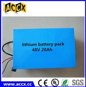 Wholesale 48V 20Ah Lithium e-bike battery/LiFePO4 battery/NCM battery, e-bike battery 48 volt from china suppliers