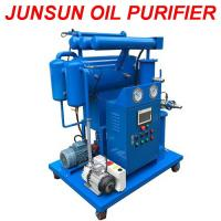Buy cheap Small Flowrate High Quality Single-Stage Vacuum Transformer Oil Purifier Machine from wholesalers