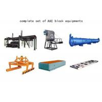 Wholesale Cost Performance Fly Ash Autoclaved Aerated Concrete Equipment AAC Block Machine from china suppliers