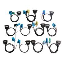 3 Odometer Programmer OBD Diagnostic Cable Sets For All Cars / Trucks