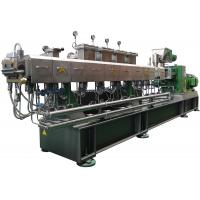 China resistance to acids and bases twin screw extruder for plastic masterbatch granules making machine on sale