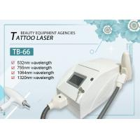 China Professional Q switched Nd Yag Laser Tattoo Removal Machine With CE Approved on sale