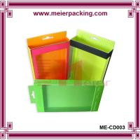 Wholesale Custom retail boxes with PVC window and handle ME-CD003 from china suppliers