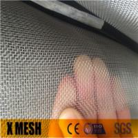 China Superior 14 mesh* 0.6mm wire Fire proof insect window screen for Soundproof on sale
