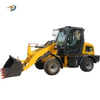 Wholesale ZL15 mini wheel loader radlader/ hoflader with 4 in 1 bucket option from china suppliers