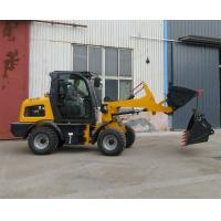 Wholesale Snow bucket snow blade wheel loader with quick hitch small loaders for sale from china suppliers