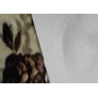 Quality Non Woven White Felt Fabric Strong Hardness Flame Compounding With Glue for sale