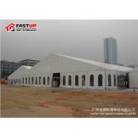 Wholesale Contemporary Outside Wedding Tents , Flameproof Clear Wedding Tent OEM Available from china suppliers