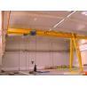 YUANTAI Semi Gantry Cranes, Half Gantry Crane, with Hoist for Workshop for sale