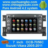 Wholesale Ouchuangbo HD 1080P GPS Navigation Stereo DVD Radio Capacitive Screen Android 4.2 Suzuki Vitara 2005-2011 OCB-7056C from china suppliers