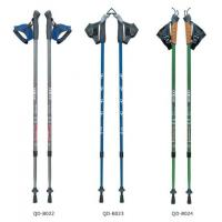 Wholesale Nordic Walking Stick 7075 Trekking Poles Outdoor 65-135cm Telescopic Climbing Equipment Aluminum  Hiking Trekking Poles from china suppliers
