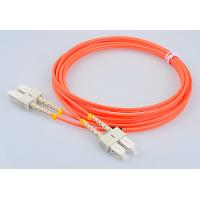 Wholesale RoHs Telecom Fiber Patch Cords SC FC LC ST Mutlimode Duplex Optical Patch Cables from china suppliers