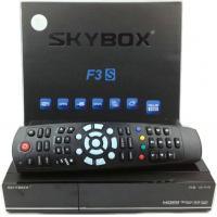 Wholesale Original Skybox F3S HD Satellite Receiver with Card Sharing CCcam Newcam MGcam from china suppliers