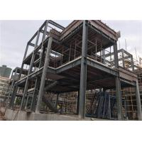 China H Section Steel Prefab Villa Steel Structure Homes With Cement Board for sale