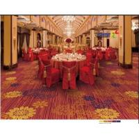 China Surface Printed Nylon Carpet Tiles Pile Height 5-12mm Customized Service for sale