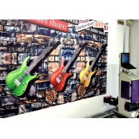 Wholesale Energy Saving 9㎡/H 720x720DPI CMYK 3D Wall Inkjet Printer from china suppliers