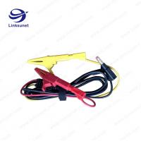 Alligator Clip Injection Wiring Harness UL94 - V0 PVC Material 4.0MM PIN for sale