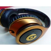 Wholesale Illusion monster beats studio headphones by dr.dre with noise canceling in red,gold,green from china suppliers