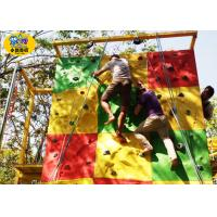 Wholesale Commercial Childrens Rock Climbing Wall , Fiberglass Kids Indoor Climbing Wall from china suppliers