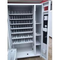 Quality Bus Drinking Cigarette Frozen Food Vending Machine Stainless + Aluminum Material for sale