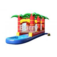Wholesale Water Playground Rainforest Inflatable Water Slides Fireproof 28L X 8W X 11H Ft from china suppliers