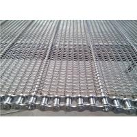 Wholesale Stainless Steel Chain Conveyor Belt High Strength Customized For Food Baking from china suppliers