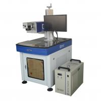 China UV Laser Marking Machine Water Cooling 3W With High Speed Galva Mirror Scanner for sale