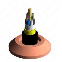 Wholesale 150 Meter 64 Core ADSS Optical Cable HDPE Self Supporting from china suppliers
