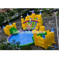China Medium UV Resistant Inflatable Water Park Equipment For Kids / Adults on sale
