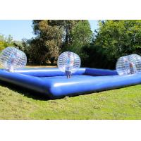 Wholesale Custom Outdoor Inflatable Toys Funny Blow Up Body Bumper Balls Arena With Pool For Family from china suppliers