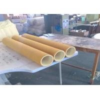 Quality 600 Degree 3mm Felt PBO And 7mm Kevlar Aramid Felt Roller Tube For Aluminum Extrusion for sale