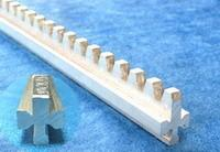 Quality hard aluminum alloy rack and pinion mechanism 1650mm long ventilation rack for sale