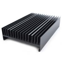 Wholesale Powder painted Aluminium Heatsink Extrusions Black With CNC Machining from china suppliers