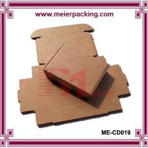 Wholesale Custom Made Folding Kraft Paper Boxes Printing Wholesale, Kraft Paper Gift Box ME-CD019 from china suppliers