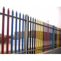 Wholesale Wrought Iron Fence Panel Hot Sale/ Euro Style Free Standing Metal Palisade Fence from china suppliers