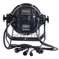 Quality IP65 Waterproof Outdoor LED Par Cans RGBW 3w Show Lighting Fixtures 25° Angle for sale