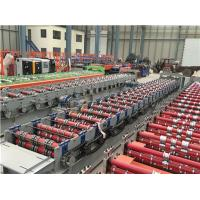 Quality Red Steel Fully Automatic Mill Gi Galvanized Deck Floor Rolling Machine Prices for sale