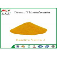 Wholesale C I Reactive Yellow 3 Textile Reactive Dyes Colour Dye For Fabric from china suppliers